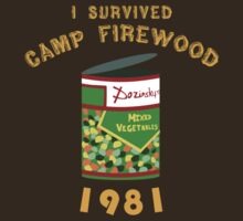 I Survived Camp Firewood by cakeyhamburger