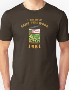 I Survived Camp Firewood T-Shirt