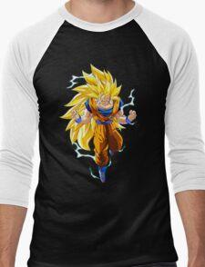 SSJ3 Men's Baseball ¾ T-Shirt