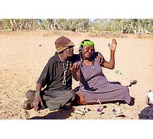 Friends in Alice Springs, Australia Photographic Print