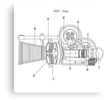 Arriflex 16mm Film Camera Canvas Print