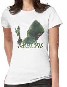 Green Arrow Womens Fitted T-Shirt