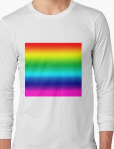 Rainbow Tee Long Sleeve T-Shirt