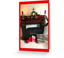 We've Moved New Address Announcement Greeting Card