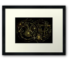 Infinity Dream Picture.. Framed Print