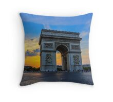 Arc De Triomphe 7 Throw Pillow