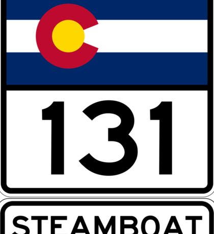 CO-131 - Steamboat Springs, Colorado Sticker