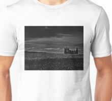 'Then as the cloud passed, I could see the ruins of the abbey coming into view'  Unisex T-Shirt