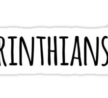 2 Corinthians 5:17 Sticker
