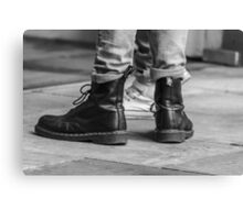 Dr Boots Canvas Print