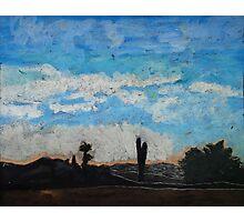 """Lisa's Tucson Morning"" Photographic Print"