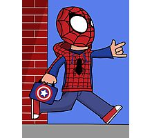 The Spectacular Spider-Kid Photographic Print