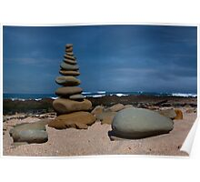 Beach Stack Poster