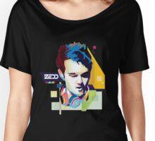 zedd Vrctor Skecth Women's Relaxed Fit T-Shirt