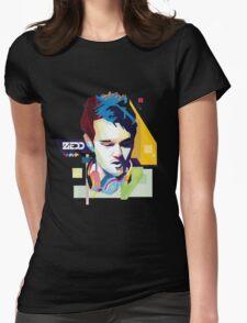 zedd Vrctor Skecth Womens Fitted T-Shirt