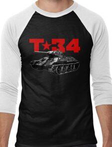 T-34 Men's Baseball ¾ T-Shirt