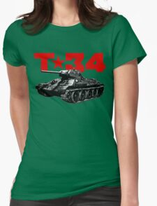 T-34 Womens Fitted T-Shirt