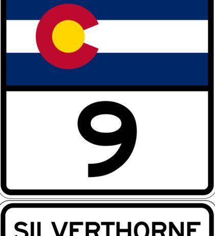 CO-9 Silverthorne Colorado Sticker