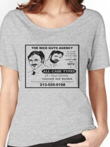 THE NICE GUYS AGENCY  Women's Relaxed Fit T-Shirt