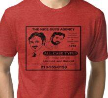 THE NICE GUYS AGENCY  Tri-blend T-Shirt
