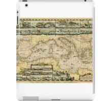Mediterranean Sea 1694 iPad Case/Skin