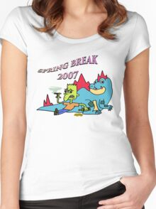 Spring break 2007 Women's Fitted Scoop T-Shirt