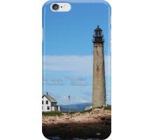 Petite Manan Island Lighthouse iPhone Case/Skin