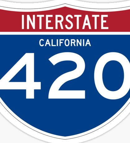 HIGHway 420 - California Sticker