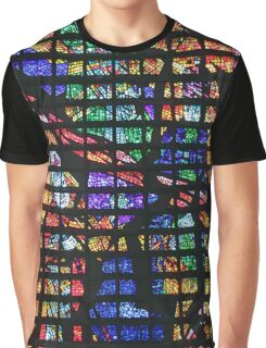 Colourful Glass  Graphic T-Shirt