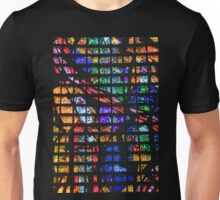 Colourful Glass  Unisex T-Shirt