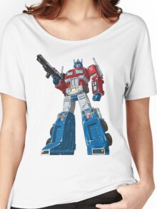 optimus prime Women's Relaxed Fit T-Shirt