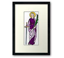 ST SABINA OF ROME Framed Print