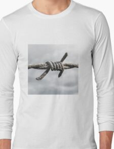 Barb of Barbed Wire Long Sleeve T-Shirt
