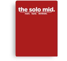 the solo mid. Canvas Print
