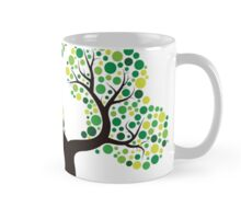 Colorful tree, colouring art Mug