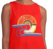 Monster Ball Beach Tee Contrast Tank