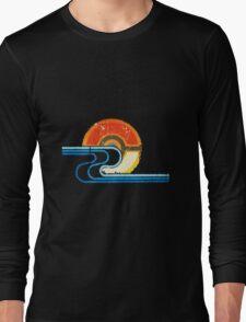 Monster Ball Beach Tee Long Sleeve T-Shirt