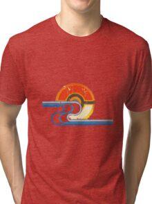 Monster Ball Beach Tee Tri-blend T-Shirt