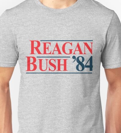 Legendary Regan Bush 84 Campaign Unisex T-Shirt