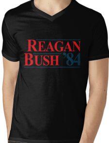 Legendary Regan Bush 84 Campaign Mens V-Neck T-Shirt