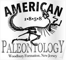 American Paleontology Poster