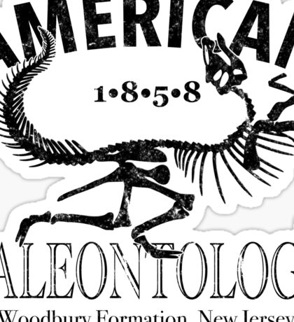 American Paleontology Sticker