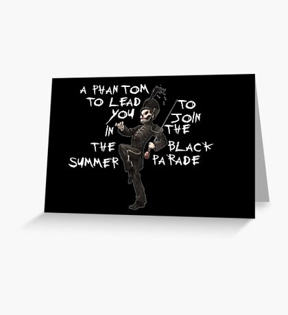 My chemical romance/ welcometo the black parade  Greeting Card