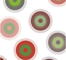 Red Circles by JessicaADesign