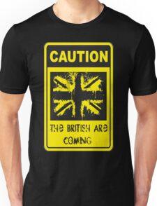 Patriotic Caution Sign Unisex T-Shirt