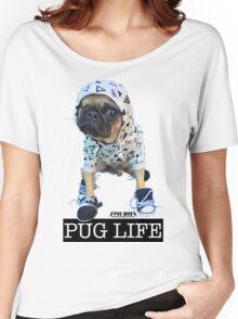 PUG LIFE PEE WEE Women's Relaxed Fit T-Shirt