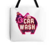 elephant car wash Tote Bag