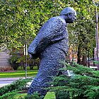 Winston Churchill © by Ethna Gillespie