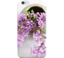 Lilacs in a Green Vase iPhone Case/Skin