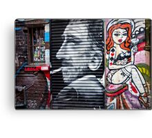 Street Art - Melbourne Australia Canvas Print